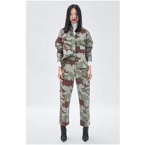 Zara Pants - NWT Zara Camuflage Cargo Pants
